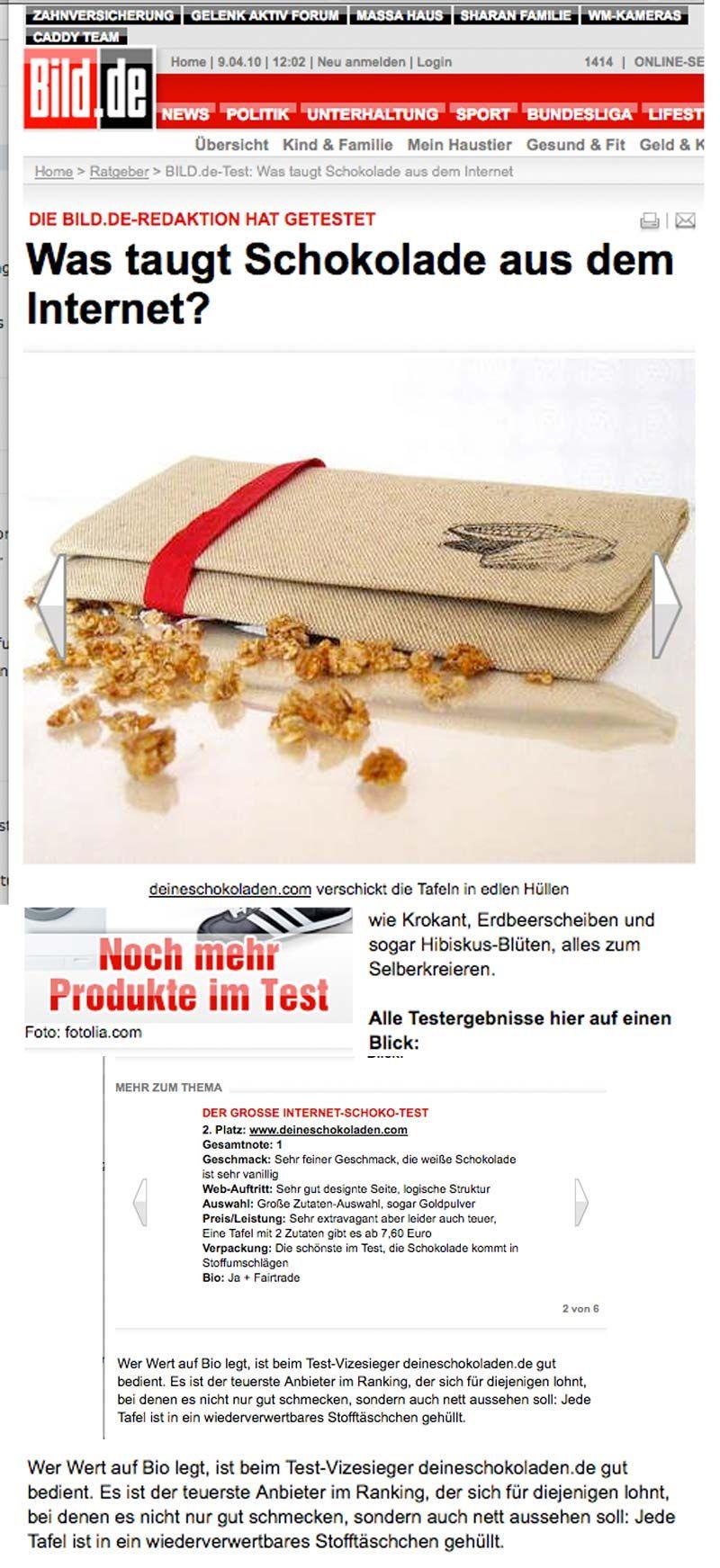 Bericht unter Bild.de